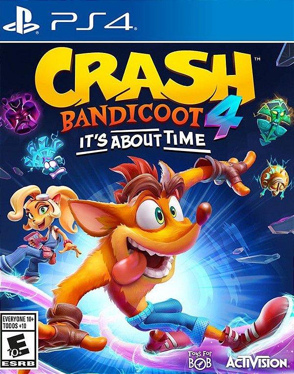 Crash Bandicoot 4 It's About Time Ps4 Digital