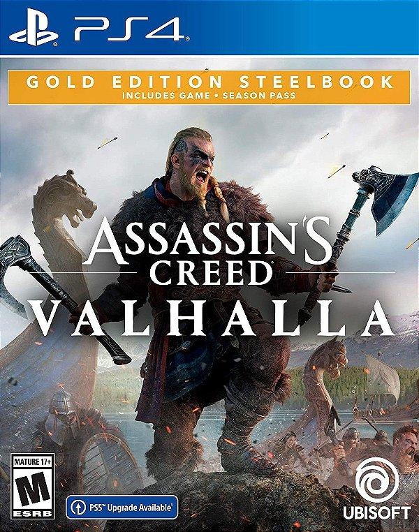 Assassin's Creed Valhalla Gold Edition Ps4 Digital