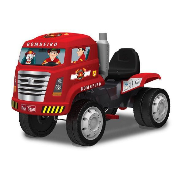 Caminhão de Bombeiro pedal- Bandeirantes-458