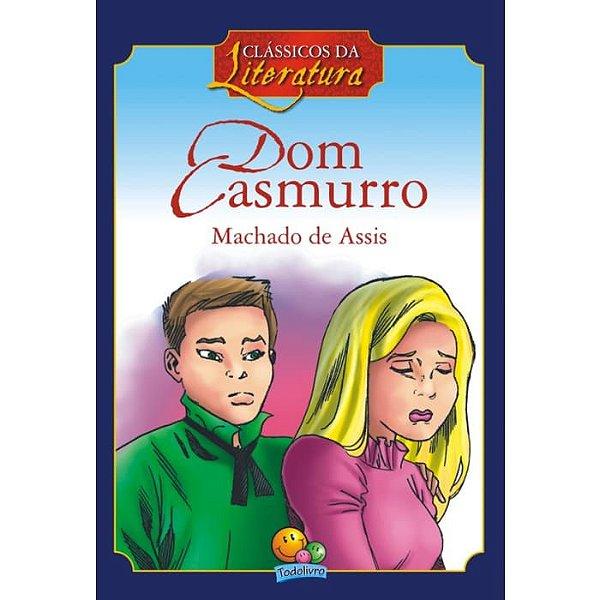 Livro Clássicos Da Literatura Dom Casmurro