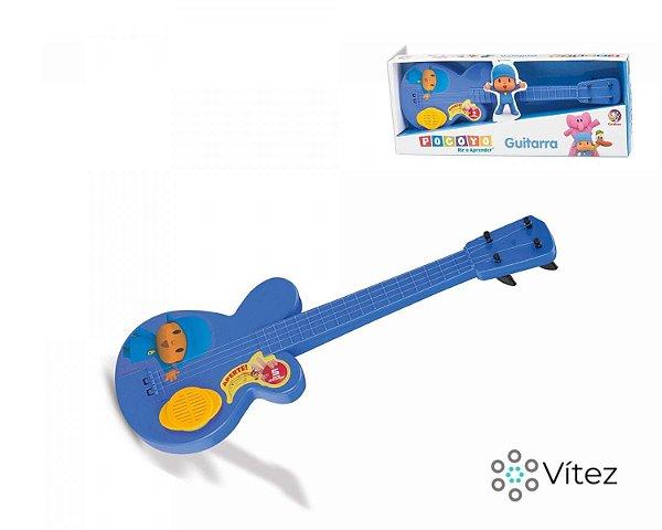Guitarra Infantil Pocoyo com Sons