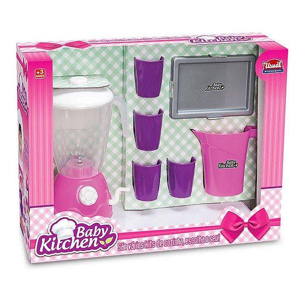 Kit Liquidificador Baby Kitchen - Usual Brinquedos