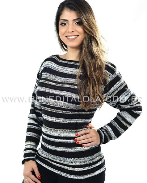Blusa Tricot Mescla Inverno 2020 -SK 379