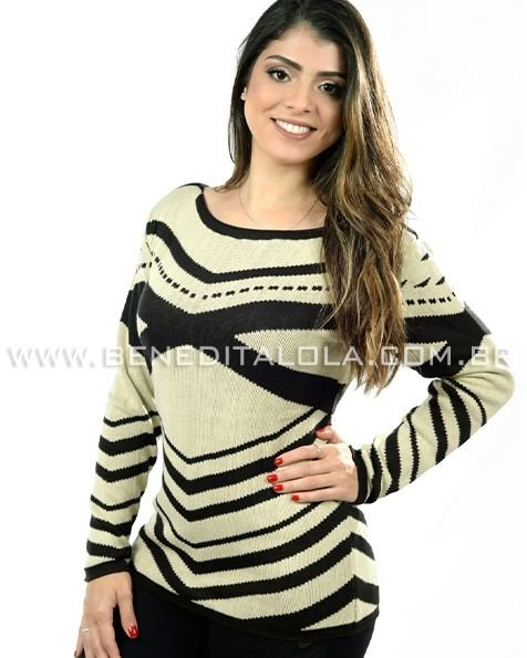 Blusa Tricot Street Style Inverno 2020 - SK