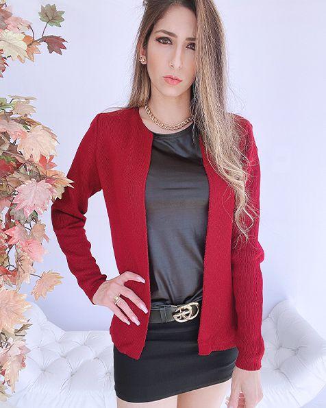 Casaco Chanel Tricot - ALQ