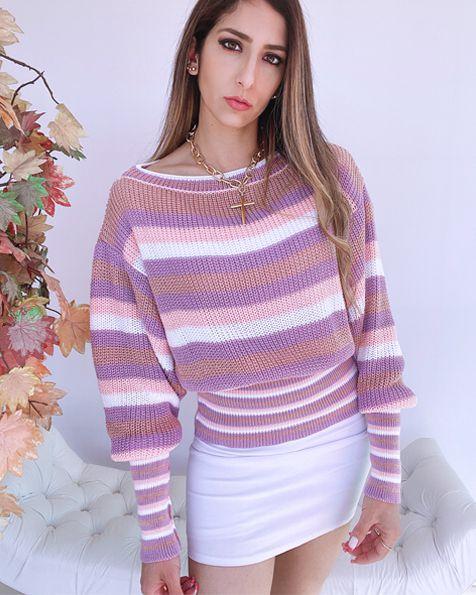 Blusa Tricot Color - BLR