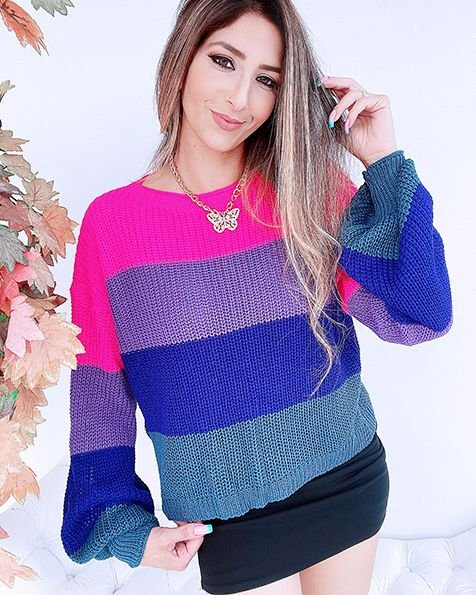 Max Cropped 2 Tricot Candy  - BLS