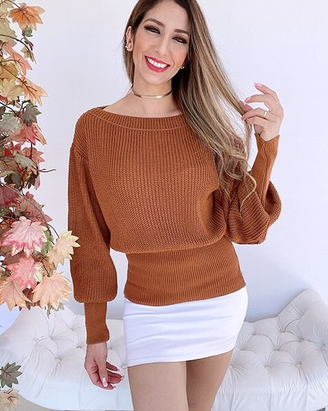 Blusa Tricot Isis - SK 1177