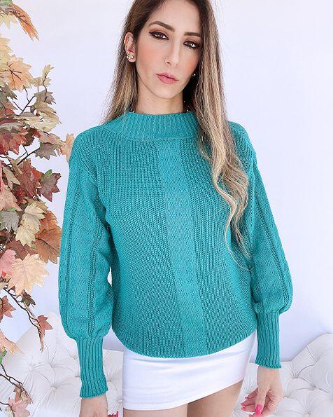 Blusa Tricot Qatar - JN