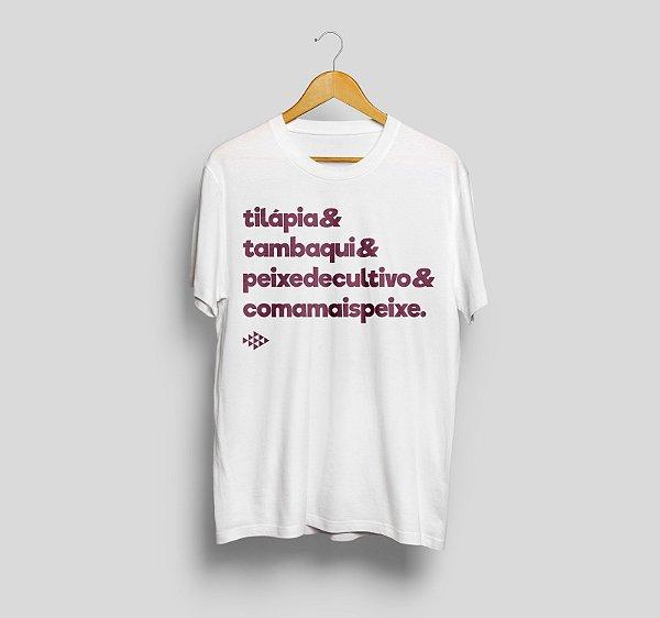 Camiseta Branca - Tilápia&