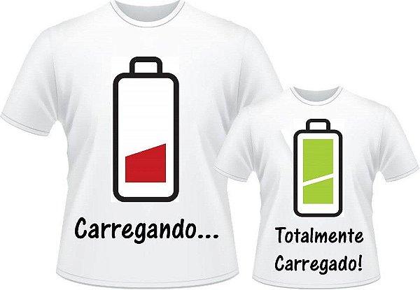 Kit Camisetas Pai e Filho(a)