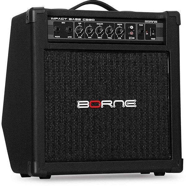 Cubo para Baixo Borne Impact Bass CB80