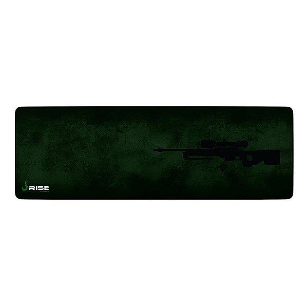 Mousepad Rise Gaming Sniper Extended Borda Costurada RG-MP-06-SNP