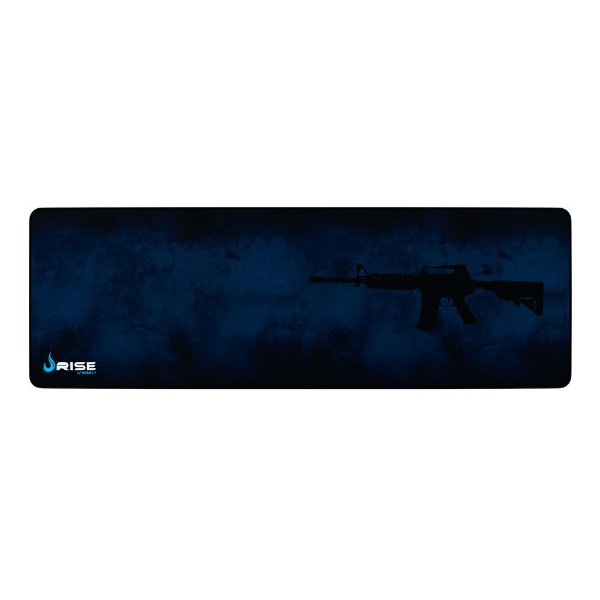 Mousepad Rise Gaming M4a1 Extended Borda Costurada RG-MP-06-M4A