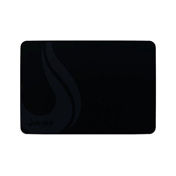 Mousepad Rise Gaming Black Mode Grande Borda Costurada RG-MP-05-FBK