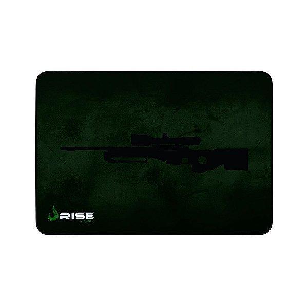 Mousepad Rise Gaming Sniper Grande Borda Costurada RG-MP-05-SNP