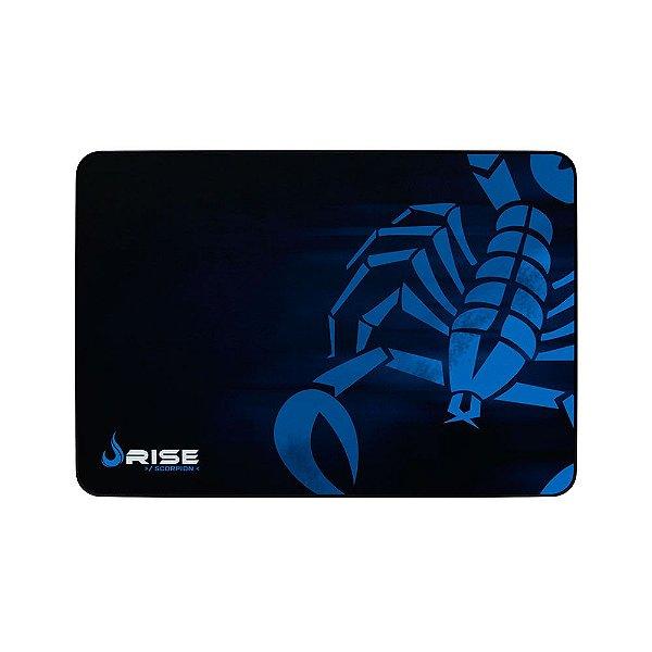 Mousepad Rise Gaming Scorpion Grande Borda Costurada RG-MP-05-SK