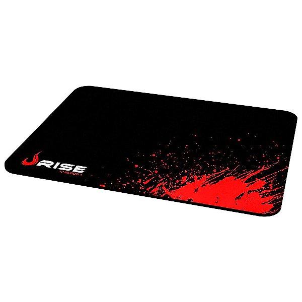 Mousepad Rise Gaming Blood Grande Borda Costurada RG-MP-05-BD