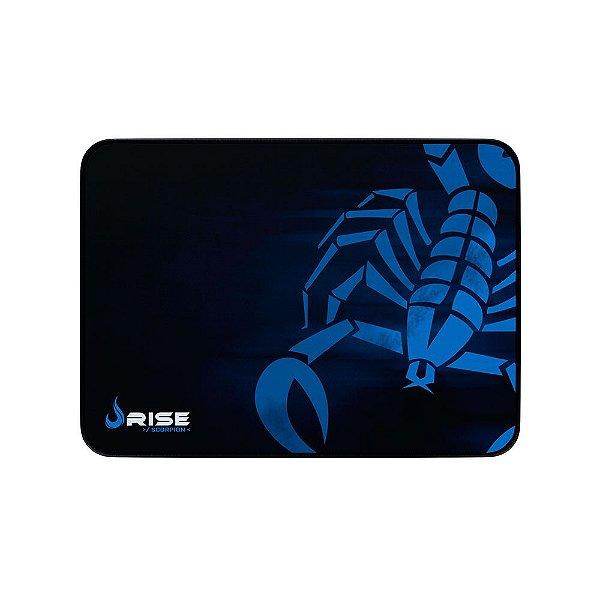 Mousepad Rise Gaming Scorpion Médio Borda Costurada RG-MP-04-SK