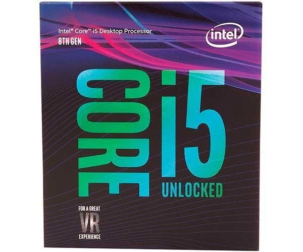 Processador Intel Core I5-8600k Hexa-Core 3.6GHz LGA1151 BX80684I58600K