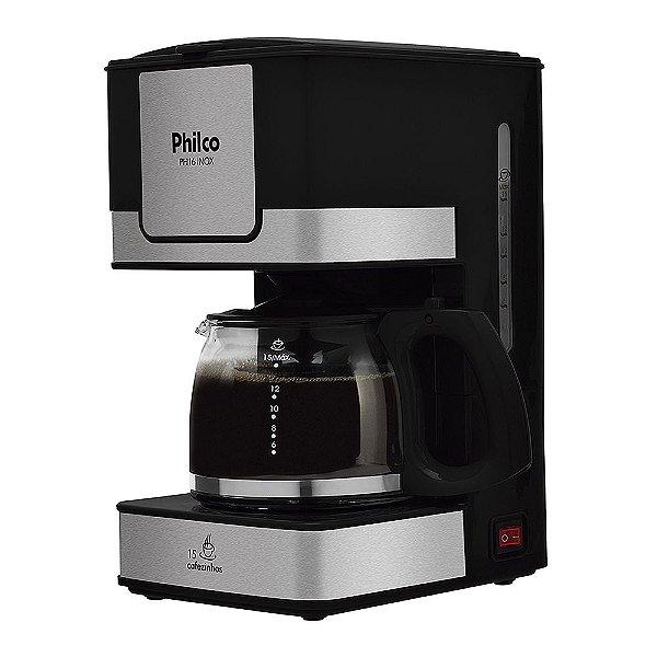 Cafeteira Philco PH16 Inox Preta 127v