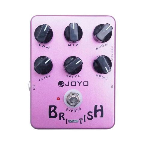 Pedal Guitarra British Sound Overdrive Joyo JF-16