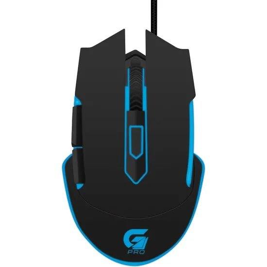 Mouse Gamer Fortrek PRO M5 4800Dpi RGB Preto