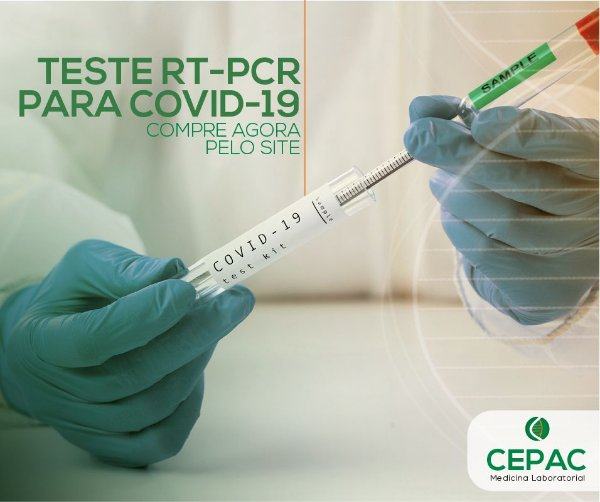TESTE RT-PCR PARA COVID-19