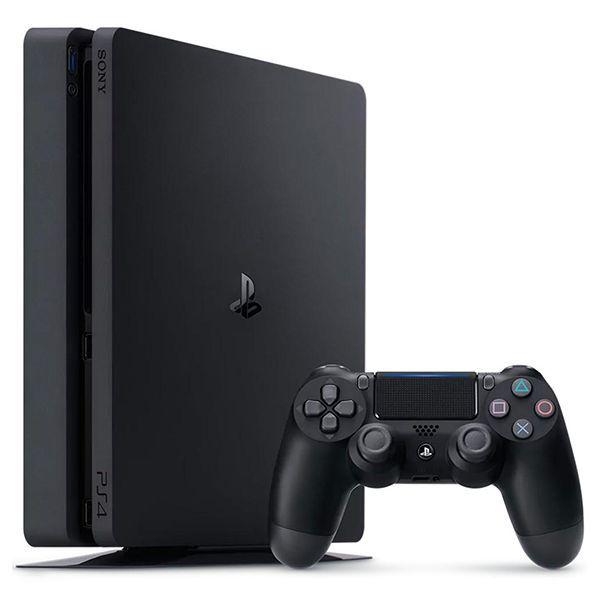 Console Playstation 4 SLIM 1 TB 1 Tera Bytes Novo Modelo Ps4 - Sony - Bivolt