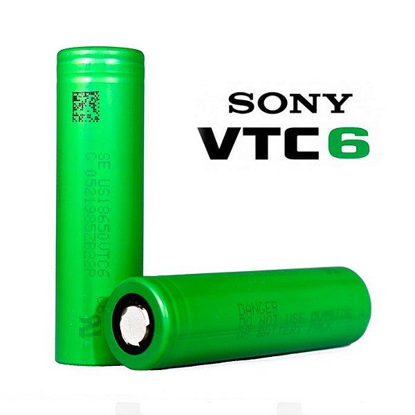 Bateria Sony® VTC 6 (18650) 3000mAh High Drain 30A