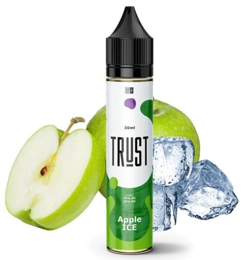 Líquido Apple Ice - Trust Juices