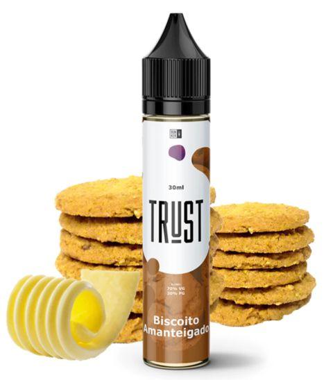 Líquido Biscoito Amanteigado - Trust Juices