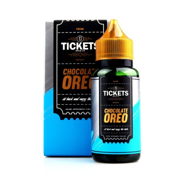 Líquido Chocolate Oreo - TicketsBrew.CO. Present