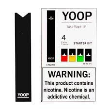 POD SYSTEM STARTER KIT (PACK COM 4) - YOOP