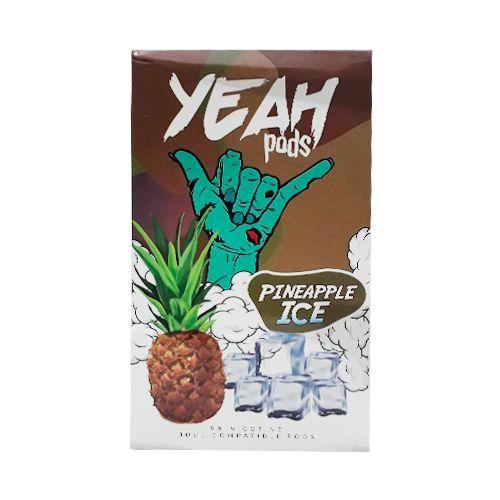 VS - PODs YEAH (cartucho) c/ Líquidos P/ JUUL E YOOP PINEAPPLE ICE