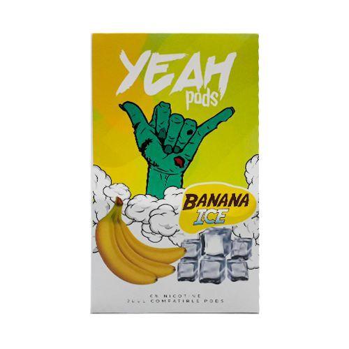 VS -PODs (cartucho) c/ Líquidos P/ JUUL Banana ICE YEAH