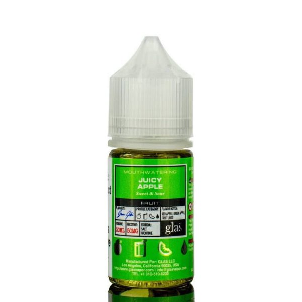 Líquido Apple - SaltNic / Salt Nicotine - GLAS