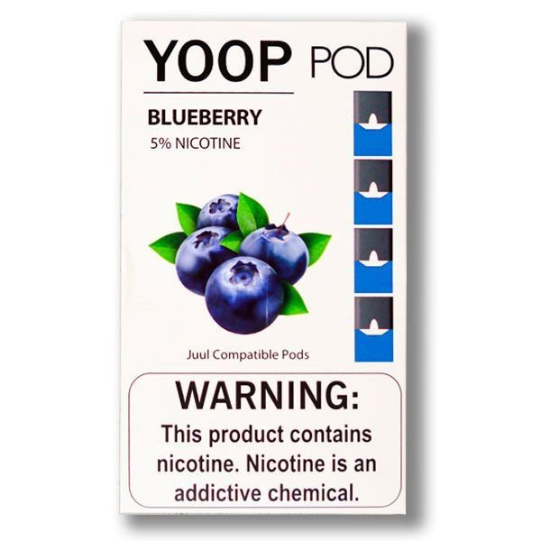 PODs c/ Líquido - BLUEBERRY - YOOP