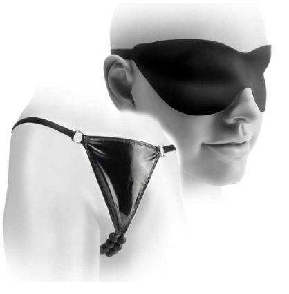 Calcinha Com Esferas Massageadoras - Silicone Beaded Panty
