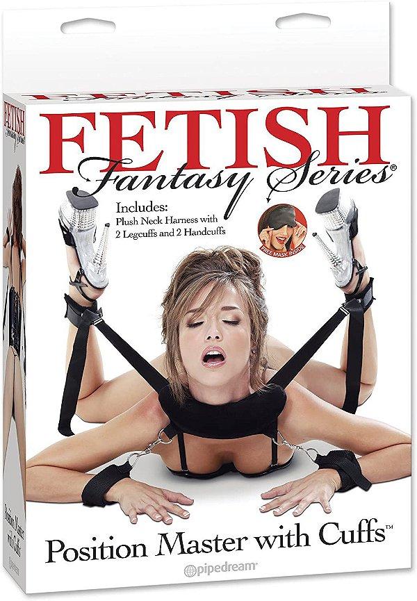 position master with cuffs-algemas para posiçoes.- fetish fantasy