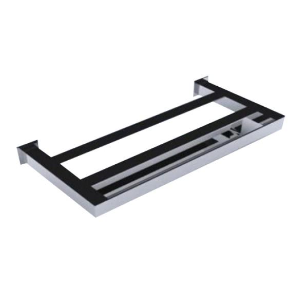 Toalheiro Rack Steel Inox 400mm