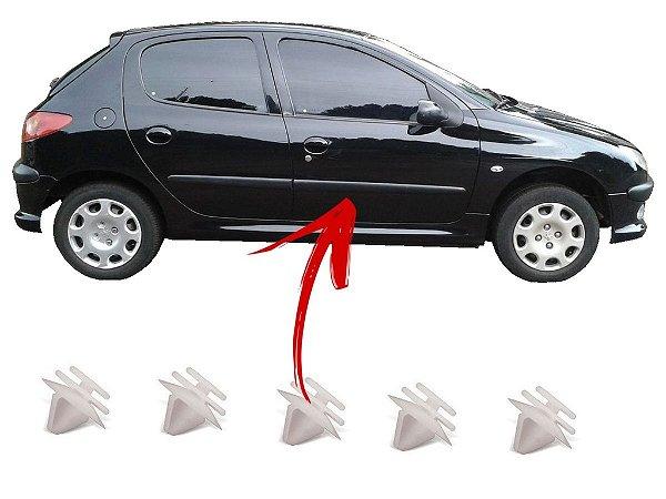 Presilha Grampo Friso Linha Peugeot 10 Unidades