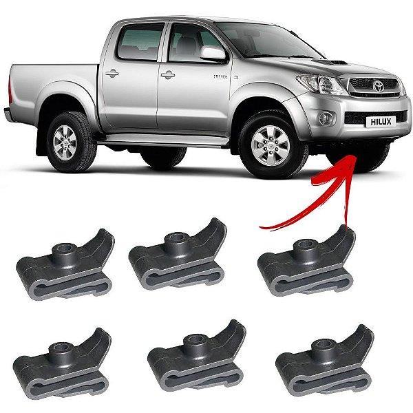 Grampo Presilha Para-Choque Para-lama Toyota 10 Unidades