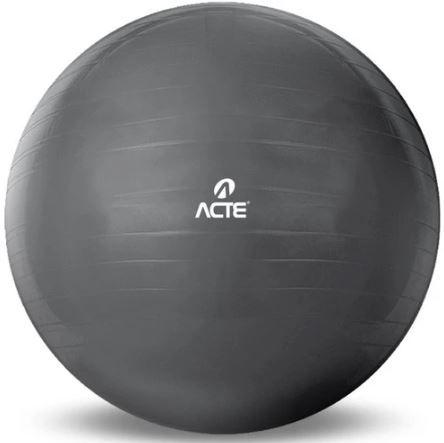 Bola Gym Ball 65Cm Prata Transparente T9-T Acte