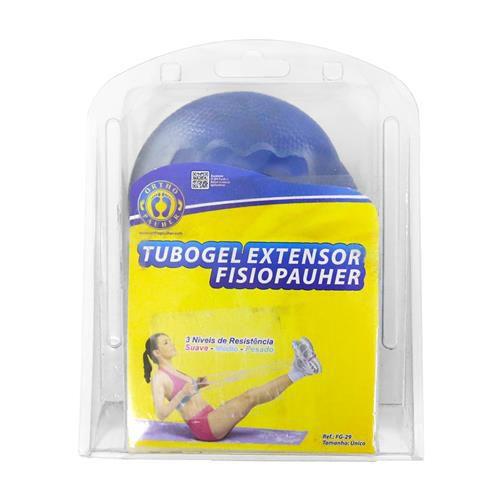 Tubo De Gel Extensor Fisiopauher Azul Medio Orthopauher