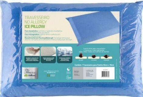 Travesseiro De Latex Ice Pillow 5Ox7O