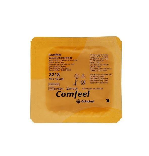 Curativo Comfeel Transparente Plus 3533 Hidrocoloide 1Ox1O Coloplast