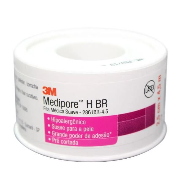 Fita Medica Suave Medipore 2,5Cmx4,5M