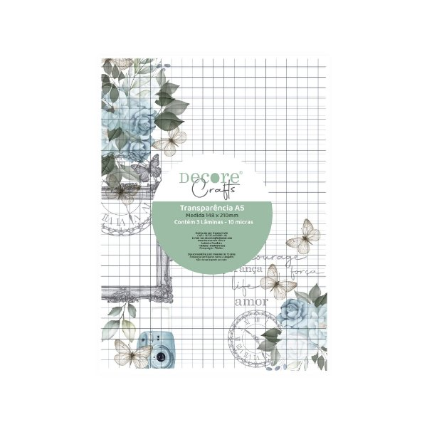 Transparência A5 Apreciar a Jornada 2102-16 - Decore Crafts
