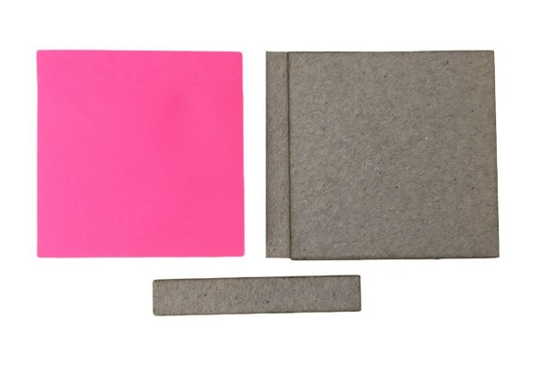 Kit Holler + Bloco Com 100 Post It 8x8 cm - 4 Cores Neon